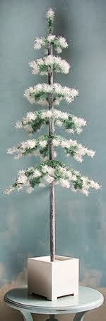 The Decorated Tree's first tree: The Alpine Feather Tree now here!