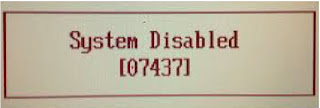 What Is System Disabled Code