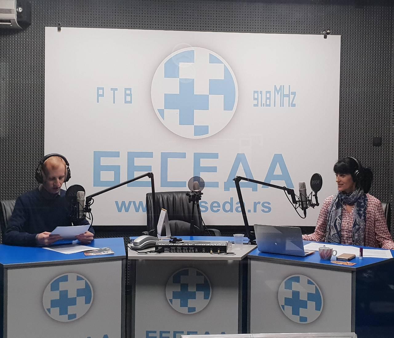 На радију Беседи о 363. броју Православног мисионара