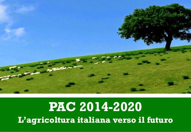 Copertina Slides MIPAAF su PAC 2014-2020