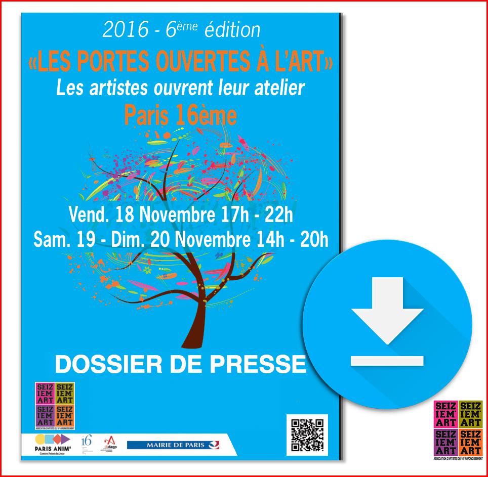 DOSSIER DE PRESSE 2016