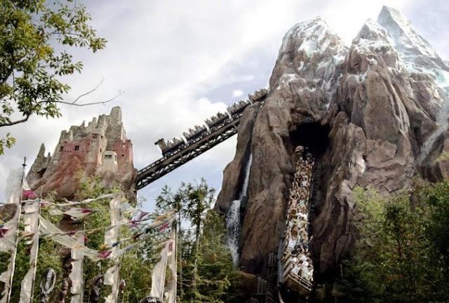 Montanha Russa Orlando - Everest