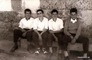 Mozos en el Cantón de Candelario Salamanca en 1959