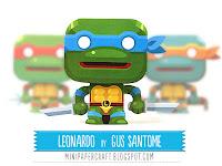 Mini Leonardo - TNMT