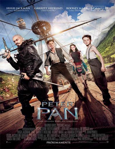 Ver Peter Pan (Viaje a Nunca Jamás) (2015) Online