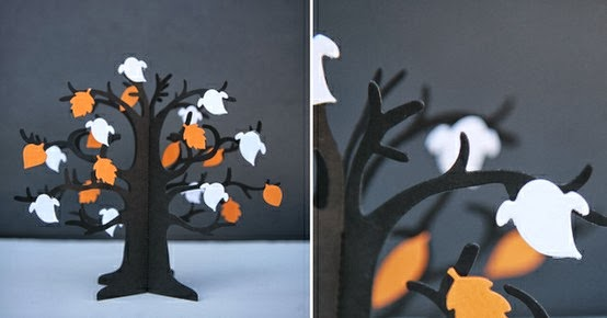 Classroom Halloween Decorations To Make ~ Halloween countdown days diy creepy trees misi