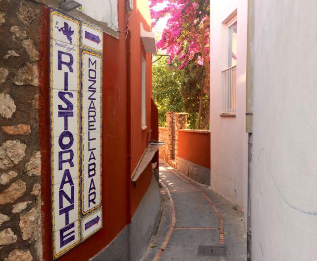 Where to Eat in Capri