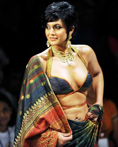Mandira Bedi looks gorgeous as she poses for a photo