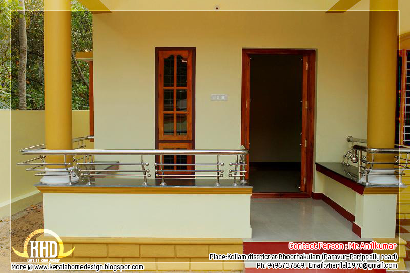 Beautiful new home for sale in kerala kerala home design for Garden sit out designs