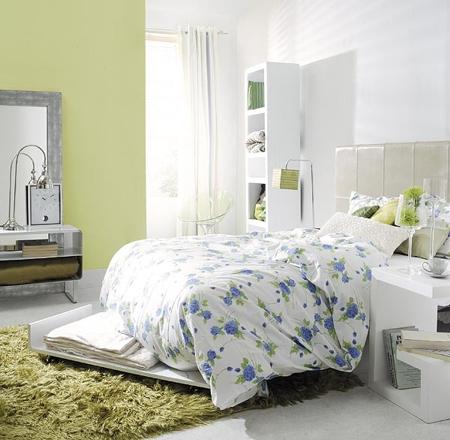 Decora el hogar decoraci n de las paredes color verde for Decoracion hogar verde