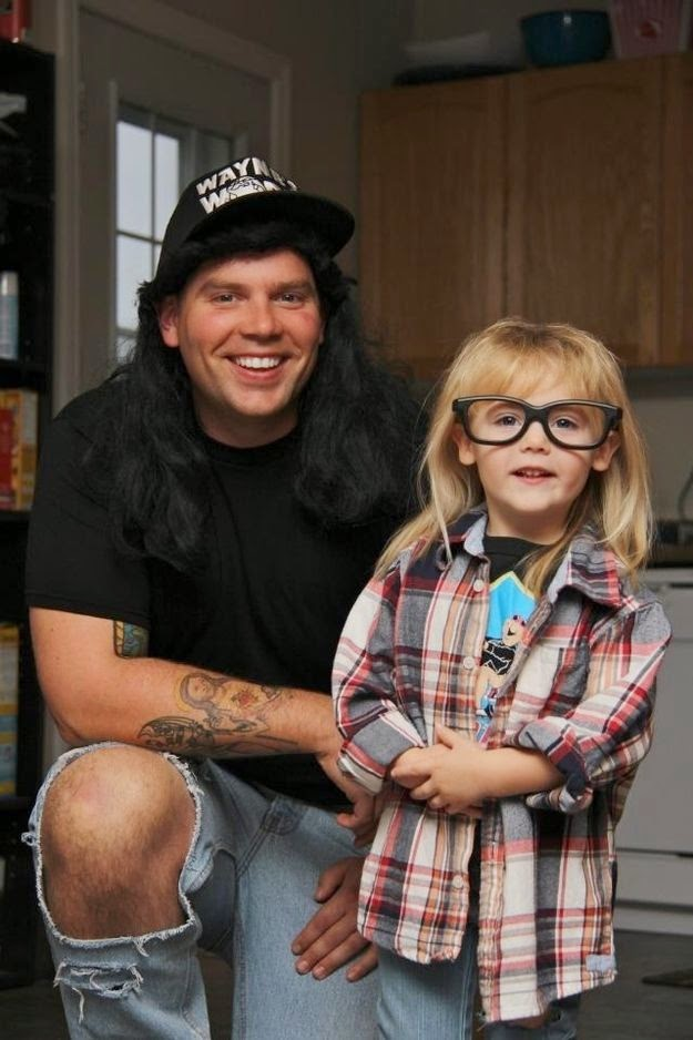wayne's world costume diy