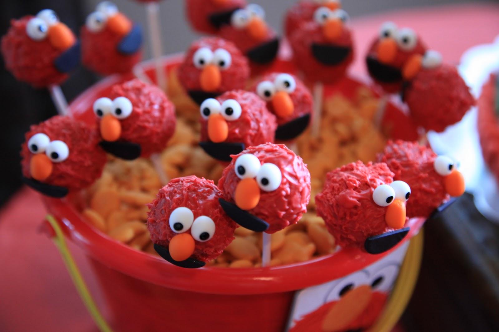 Vintage Pretty Elmo Birthday Party