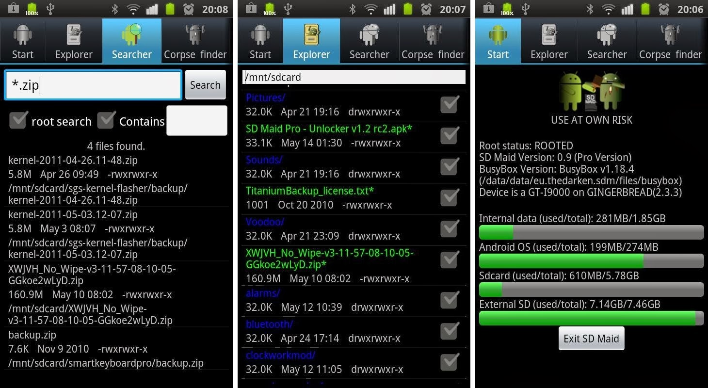 Sd maid pro v2 1 4 0 unlocker v2 1 1 2 root android