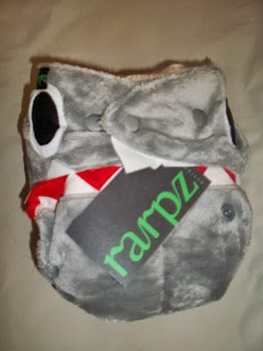 Rarpz Designs Shark Pup Diaper