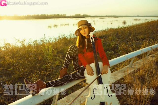 5 Liu Lu - Sprinkle love love-very cute asian girl-girlcute4u.blogspot.com