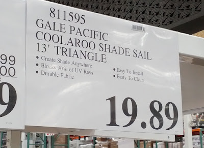 Gale Pacific Coolaroo Shade Sail keeps you cool and provides shade