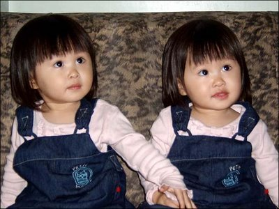 Lovely twin girl Babies Wallpapers Download