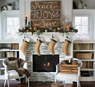 Decoración de Navidad Estilo Vintage