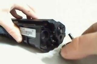 remove lid toner samsung ml-210