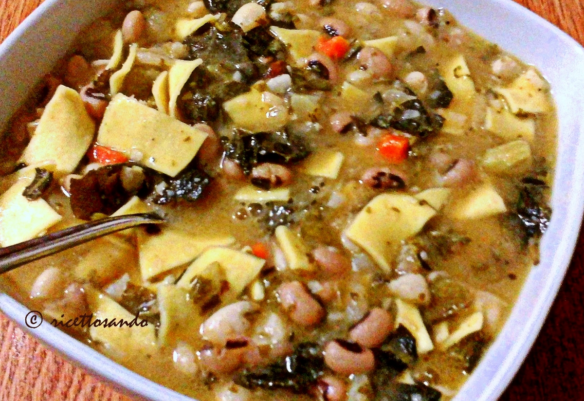 Zuppa di pasta fagioli