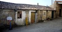 Planta de acceso vivienda unifamiliar en Oia