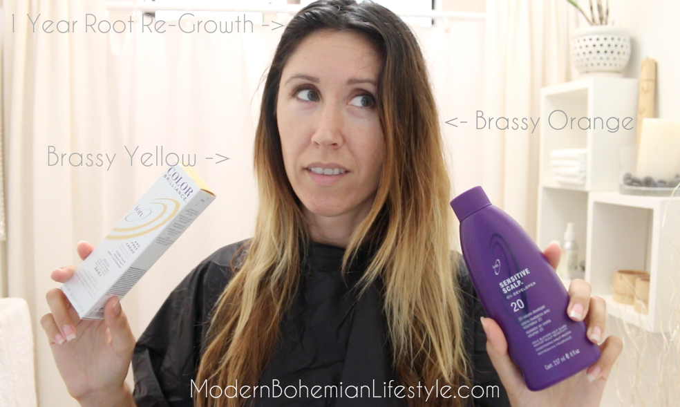 How I Maintain Ombre Balayage Hair At Home Modern Bohemian