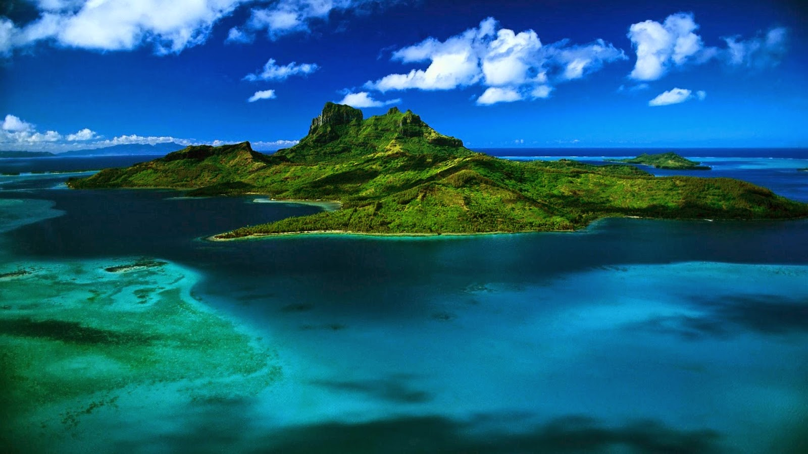 Beautiful Places Nature Images Island Cloudy HD Wallpapers Free Downloads