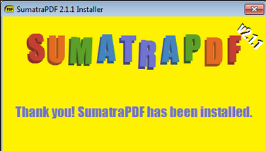 Download Sumatra PDF Latest Version