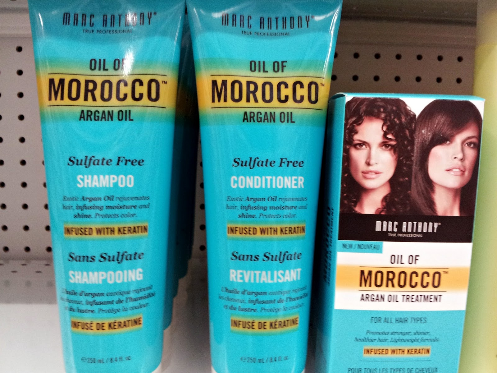 Spotted in Store- New Marc Anthony Hair- Oil of Morocco, Bye Bye Frizz