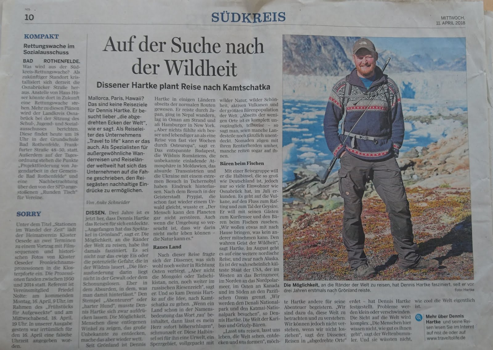Auf der Suche nach der Wildheit