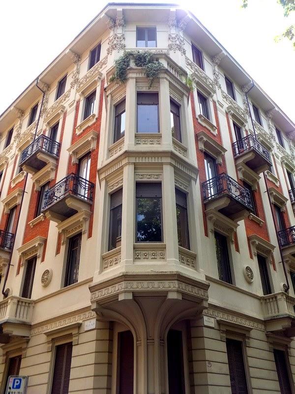 Turin Italie art nouveau Liberty corso francia casa zorzi