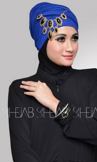 Inspirasi Hijab Modern Pesta Model Terbaru