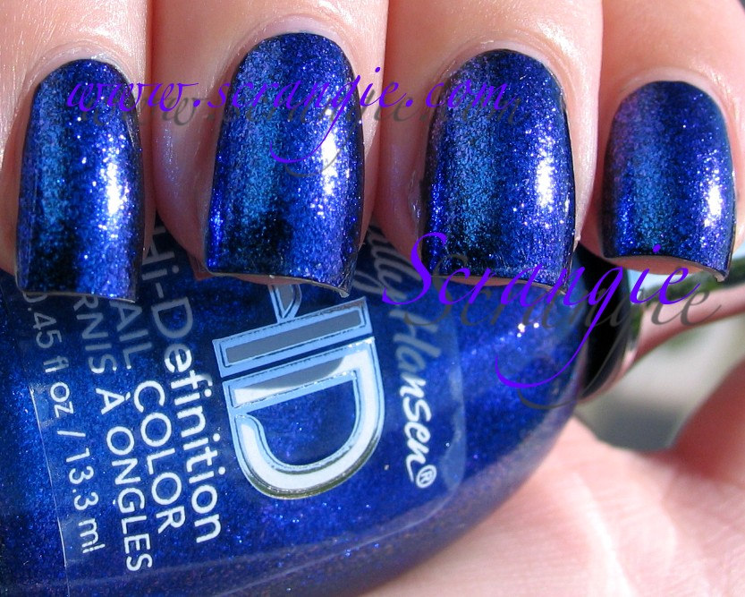 Scrangie: Sally Hansen HD Hi-Definition Nail Color in Laser