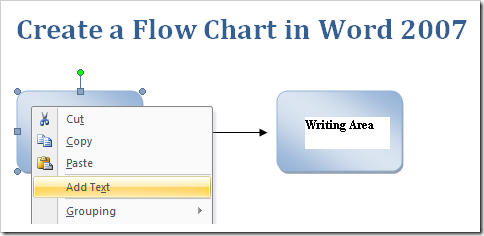 Create A Flow Chart In MSWord Microsoft Office Support – Process Flow in Word