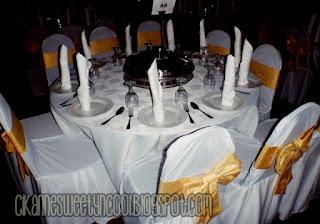 set meja vip dalam catering