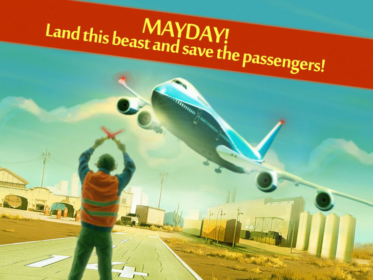 MAYDAY! Emergency Landing Free App Game By Reludo