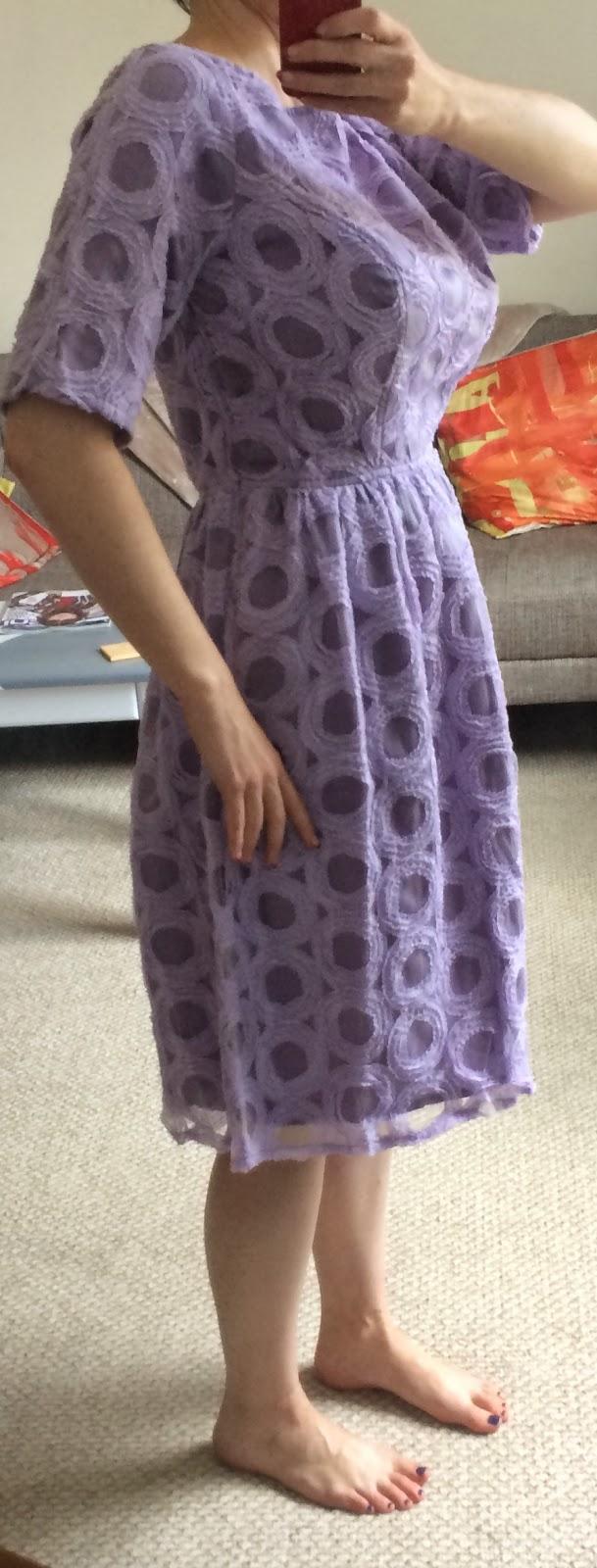 A custom-sized dress from eShakti