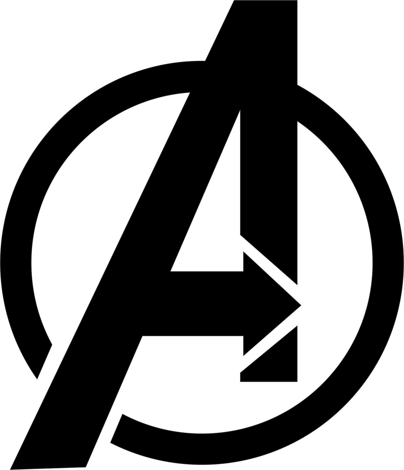 Denizignko's Freebies - The Avengers Logo Vector Free ...
