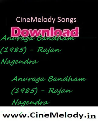 Anuraga Bandham Telugu Mp3 Songs Free  Download  1985