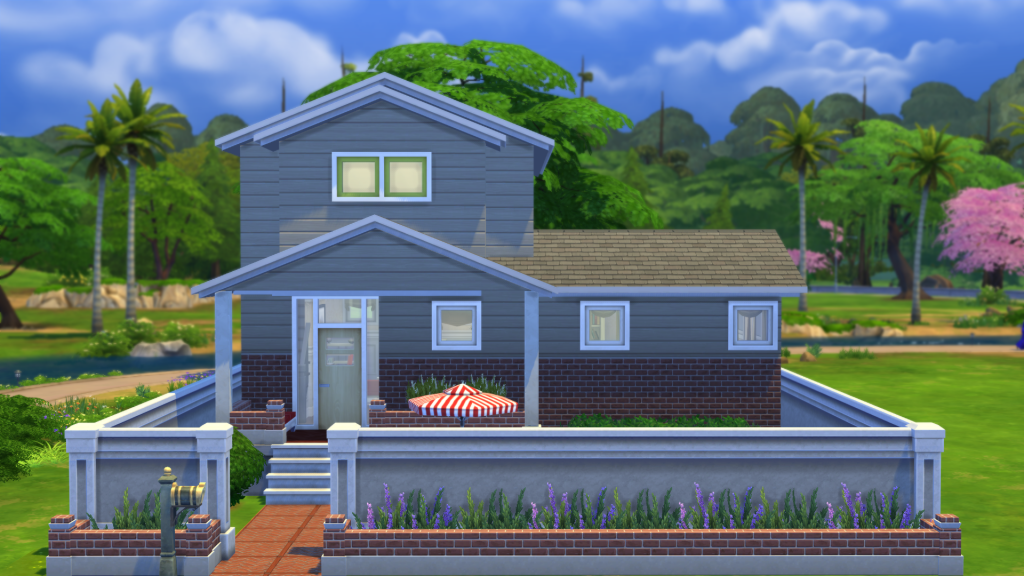 My sims 4 blog houses by simple realty for Sims 4 simple modern house
