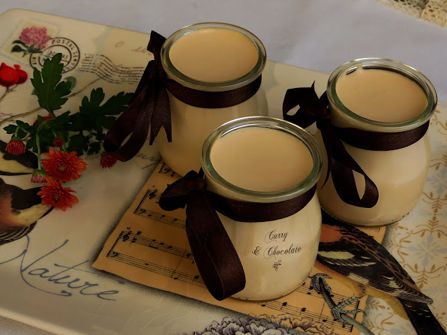 Mousse de chocolate blanco y café – White chocolate and coffee mousse