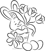 But there was no forthcoming explanation of why Easter – the day of the . easter bunny