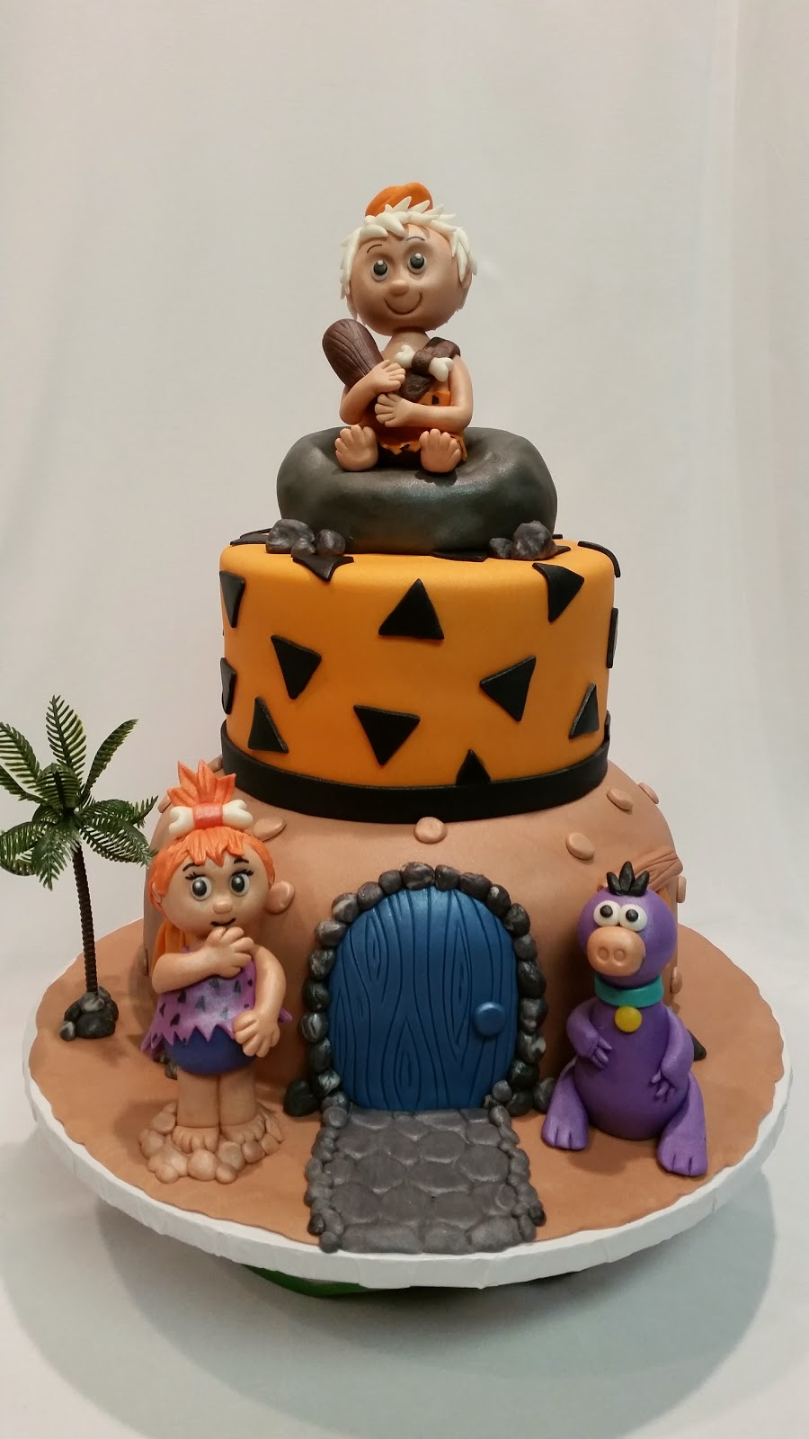 Pebbles And Bam Bam Cake