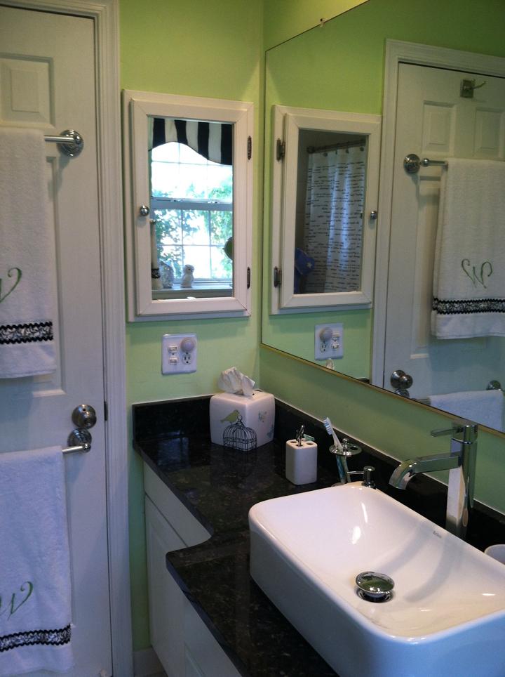 Total bathroom re design with restore habitat for for Total bathroom remodel