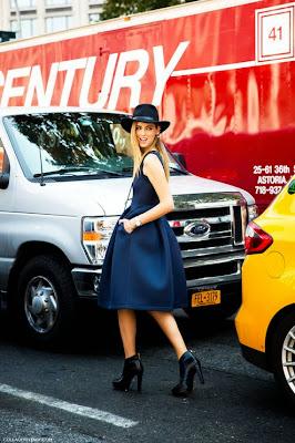 fashion black and blue