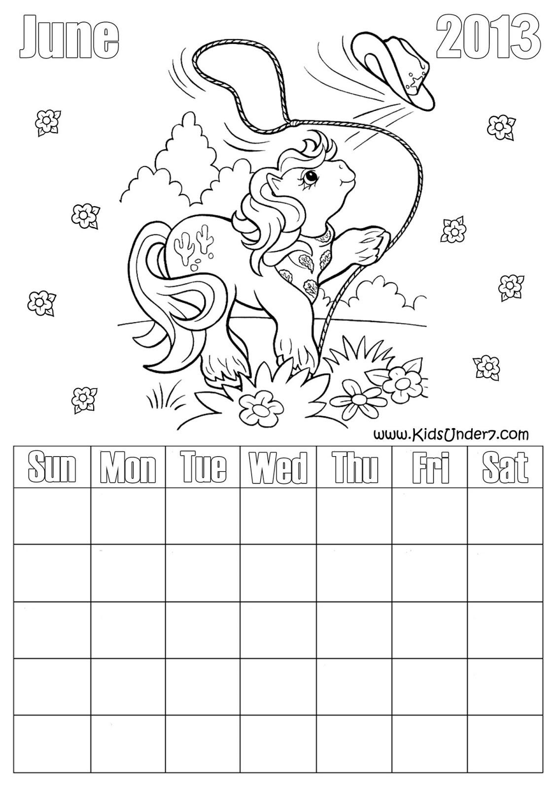 Kids Under 7: Loose-Leaf 2013 Calendar for kids