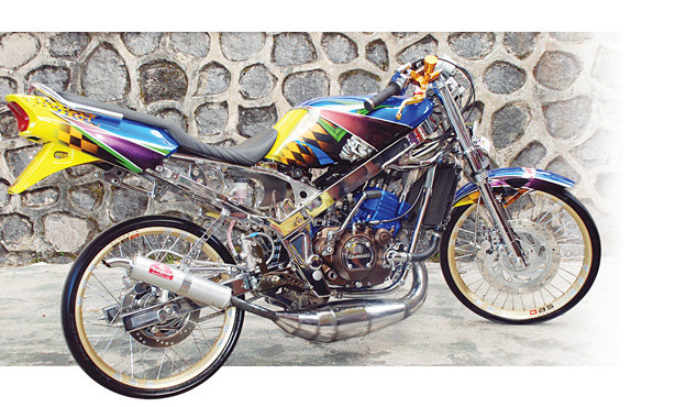 Foto Ninja R 150 Modifikasi title=
