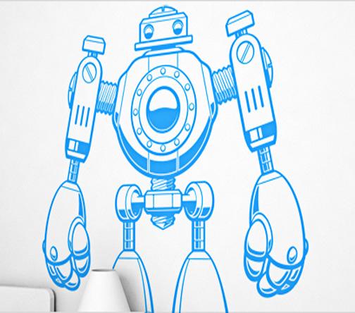 VINILO ROBOT
