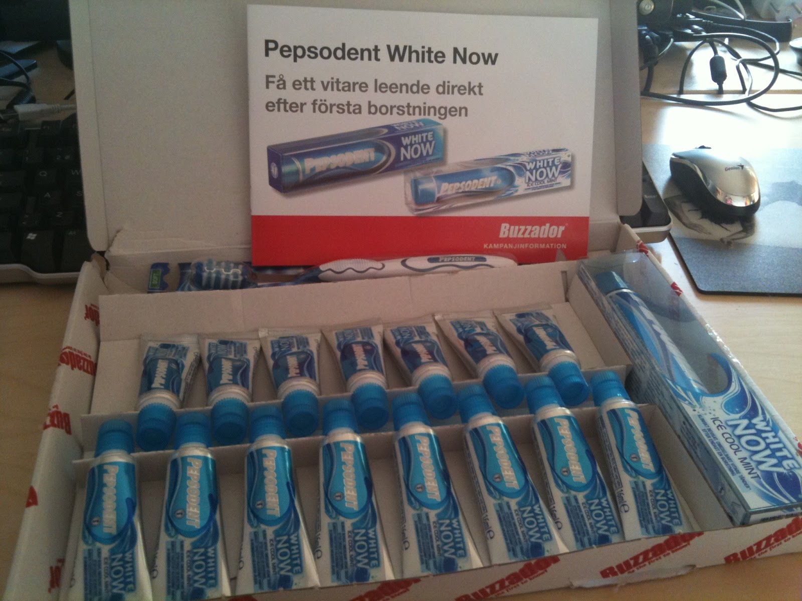 pepsodent white now gold test
