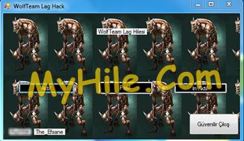 Wolfteam Lag Hack 2014